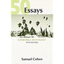 50 Essays: A Portable Anthology 5th Ed.